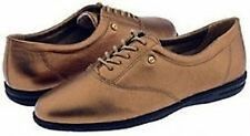 Easy Spirit Motion leather oxfords flats walking shoes copper penny sz 5 Med NEW