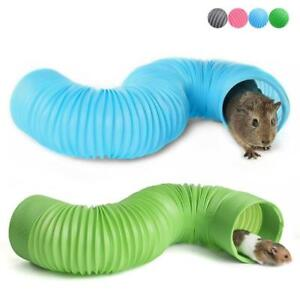 Funny Smal Pet Hamster Tunnel Cage Toy Ferrets Rat Playing Hide Tube for Indoor