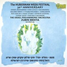 Huberman Week Festival 30th Anniversary Import, Classical Music Box set NEW CD