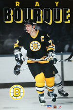 RAY BOURQUE Boston Bruins 1991 NHL Hockey Vintage Original Action POSTER