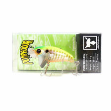 Jackall Pompadour Jr Floating Topwater Lure IS Chartreuse Back Gill Bone (9524)