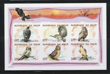 NIGER 1998 BIRD STAMPS  BIRDS OF PREY IMPERF  SS MNH - BIRDL609