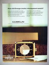 Omega Mystique Watch PRINT AD - 1981 ~~ wristwatch, watches