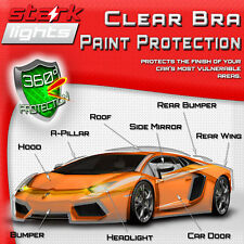 Clear Paint Protection Bra Film Car Auto Vinyl Wrap Scratch Shield - Exterior