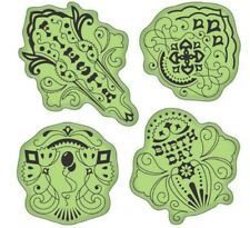 Inkadinkado Stamping Gear Birthday Fiesta Celebration Party Cling Rubber Stamp
