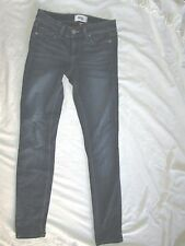 $189 Paige Verdugo ankle size 24 blue skinny jeans low rise  RN27002 womens jean