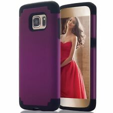 Samsung Galaxy S7 Case Premium Dual Layer Shockproof Bumper Protective Cover New