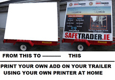 advertising trailer poster printing software for your business