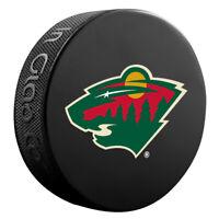 Minnesota Wild NHL Team Logo Basic Souvenir Hockey Puck