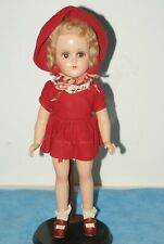 "GORGEOUS! Vintage All Original 14"" Nancy Lee Composition Doll"