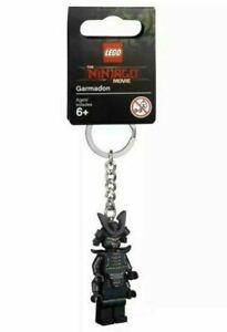 LEGO GARMADON MINIFIGURE KEYCHAIN NINJAGO MOVIE 853757 KEYRING KEY CHAIN RING