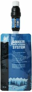 Sawyer Products Squeeze Water Filtration System Squeeze Filter Kit W/ 2 Pouches