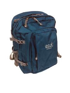 Jack Wolfskin Berkeley Backpack Moroccan Blue Bookbag Daypack New