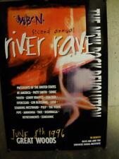 Wbcn Large 1996 Promo Poster Verve Pipe Gin Blossoms Lush Cracker Semisonic more