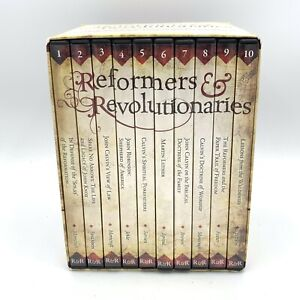 Reformers & Revolutionaries DVD 10 Set Vision Forum Homeschool Curriculum