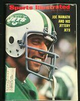 SPORTS ILLUSTRATED - Oct 9 1972 - JOE NAMATH / New York Jets / Football