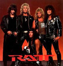RATT 1987 CITY TO CITY WORLD TOUR CONCERT PROGRAM BOOK / NM 2 MINT