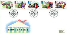 2 AUGUST 1994 SUMMERTIME ROYAL MAIL FIRST DAY COVER LORDS LONDON NW8 SHS