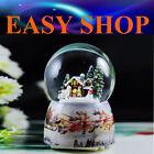 15cm Horse Music Box Snow Globe Crystal Merry Go Round Christmas Gift Birthday