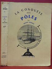 Henry BIDOU - LA CONQUÊTE DES PÔLES - mission scientifique polaire - 1940