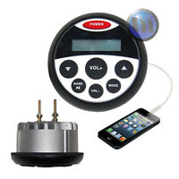 NEW Marine Boat Waterproof MP3/USB/FM/AM/iPod/Bluetooth Radio 4*40w