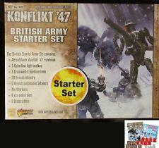 Warlord Games 451510601 Konflikt '47 British Army Starter Set Weird War WWII NIB
