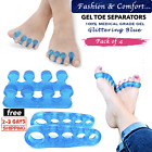 4PCS Silicone Bunion Toe Corrector Orthotics Straightener Separator Pain Foot