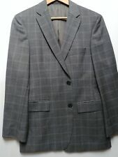 "Hugo Boss Pasini1 38R Sport Coat ""Comfort"" Gray Plaid"