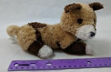 Wonderland Marketing Puppy Dog Small Brown/White Plush Stuffed Animal