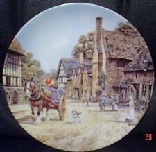 Wedgwood Collectors Plate STANTON From THE CHARM OF AN ENGLISH VILLAGE