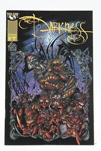 Darkness (1996) #8 Reg cover Signed Joe Benitez of Lady Mechanika 1st Print NM
