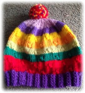 Handknitted Toddlers Beanie