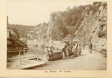 France, Les bords du Cousin, ca.1900, vintage silver print Vintage silver print,
