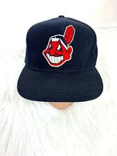Cleveland Indians New Era 59 50 Baseball Hat Cap Wool USA Fitted Blue Pro