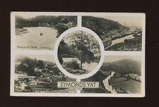 Herefordshire SYMONDS YAT M/view c1920/30s? RP PPC