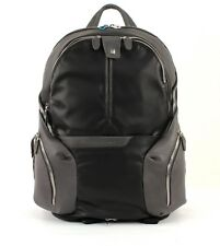 PIQUADRO Zaino Coleos Expandable Laptop Backpack Nero
