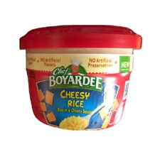 Chef Boyardee Cheesy Rice In Cheese Sauce 10 Pack 7.25 Oz Each Cup