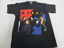 VTG 90s 1990 Heart Concert Band T Shirt Size Men's Medium Made In The USA Folk