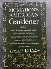 McMahon's American Gardener, 1976 Paperback Funk & Wagnall Facsimile Edition