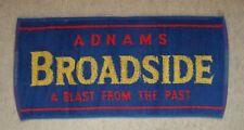 Adnams Broadside Beer Bar Towel Pub Home Bar Man Cave Unused
