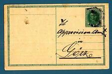 AUSTRIA - Cart. Post. - 1917 - Kaiser Karl (1887-1922)