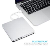 External USB2.0 DVD CD-RW Drive Writer Burner DVD Player for MAC Macbook Pro