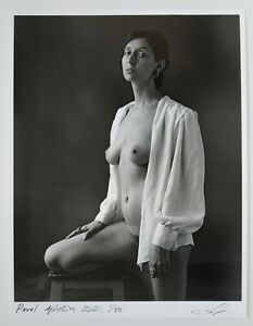 Sensual portrait by Pavel Apletin, pigment print signed limited female fine art