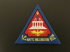Us Navy Nattc Millington, Tennessee Patch Measures 5 1/8Th Inches Triangle