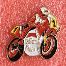 Pins MOTO Bike YAMAHA 500 YZR MARLBORO LAWSON Eddie Motorrad Biker Anstecker