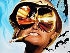 Fear and Loathing in Las Vegas Theatrical Original Movie Poster D/S 2 Sided