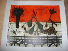 """Bernard Buffet Lithographie """"Nature Morte"""" signée et numérotée"""