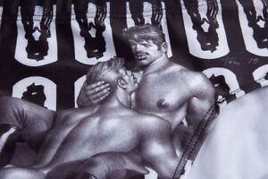 SUPER RARE! Men's TOM OF FINLAND erotic artwork on Swimwear. So Ready.Are you?