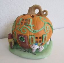 Partylite Pumpkin Patch Tea Light House w/Box