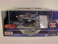 WWII US Army P-51 Mustang Airplane Diecast 1/48 Motormax 8 inch Aircraft